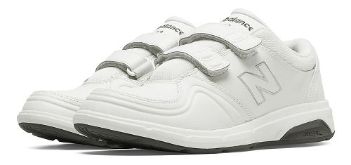 Womens New Balance 813 Walking Shoe - Strap White 10