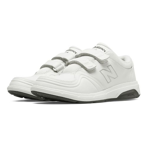 Womens New Balance 813 Walking Shoe - Strap White 7.5