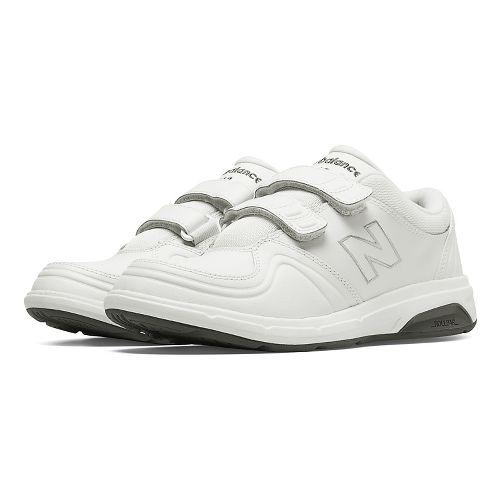 Womens New Balance 813 Walking Shoe - Strap White 9