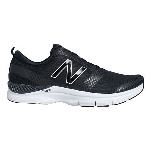 Womens New Balance 711 Cross Training Shoe - Black Graphite 7.5
