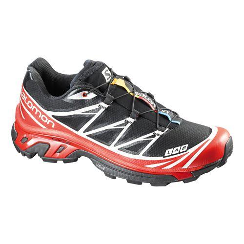 Unisex Salomon S-Lab XT 6 Softground Trail Running Shoe - Black/Red 4.5