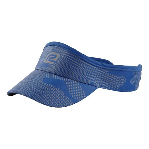 R-Gear Seize the Day Camo Visor Headwear - Cobalt/Charcoal