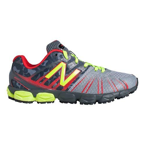 Kids New Balance 890v5 G Running Shoe - Grey/Red 4.5