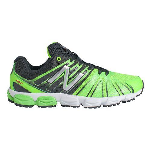 Kids New Balance 890v5 G Running Shoe - Green/Black 4.5