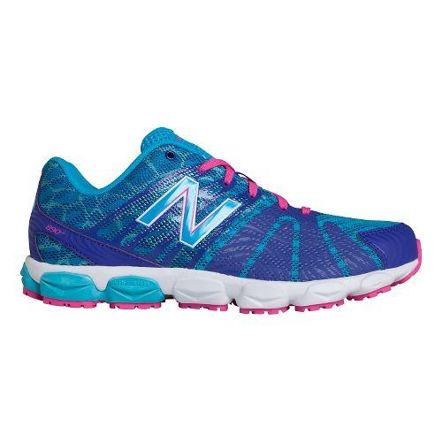 Kids New Balance 890v5 G Running Shoe - Blue/Blue 5