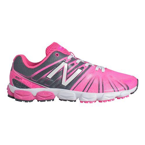 Kids New Balance 890v5 G Running Shoe - Pink/Black 4.5