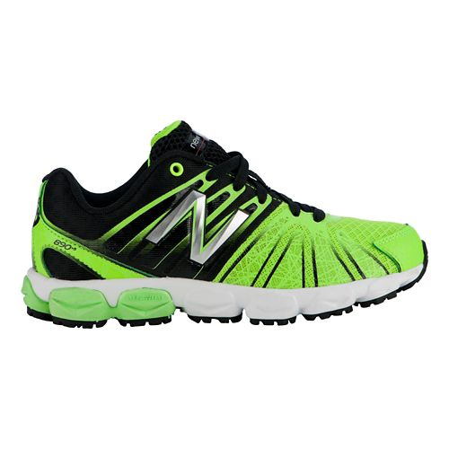 Kids New Balance 890v5 P Running Shoe - Green/Black 13.5