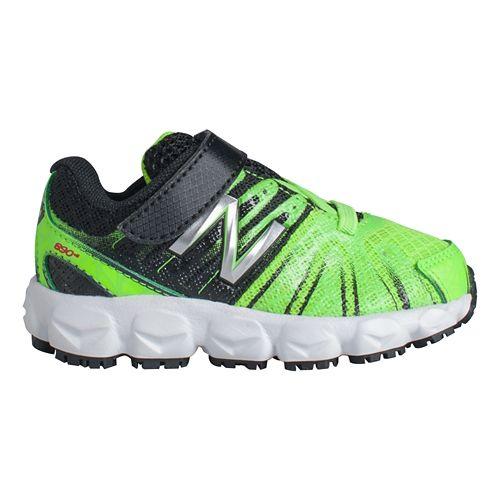 Kids New Balance 890v5 I Running Shoe - Green/Black 5.5