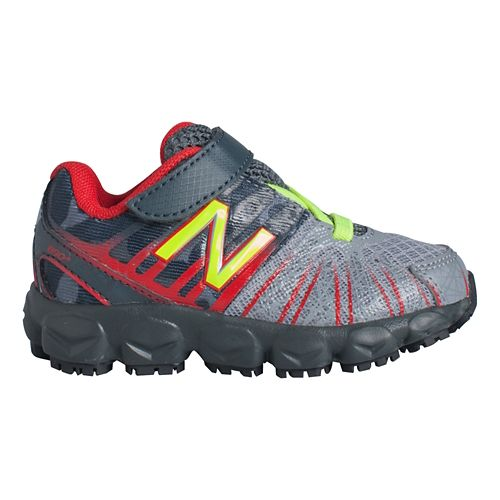 Kids New Balance 890v5 I Running Shoe - Grey/Red 7.5