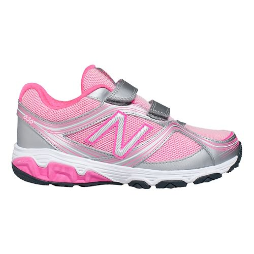 Kids New Balance 636 P Running Shoe - Pink/Grey 1.5