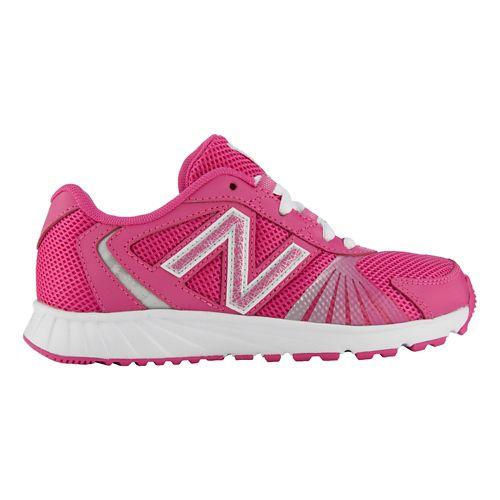 Kids New Balance 555 Running Shoe - Pink/Purple 12