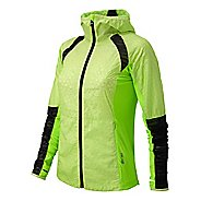 Womens New Balance Performance Warm Up Hooded Jackets