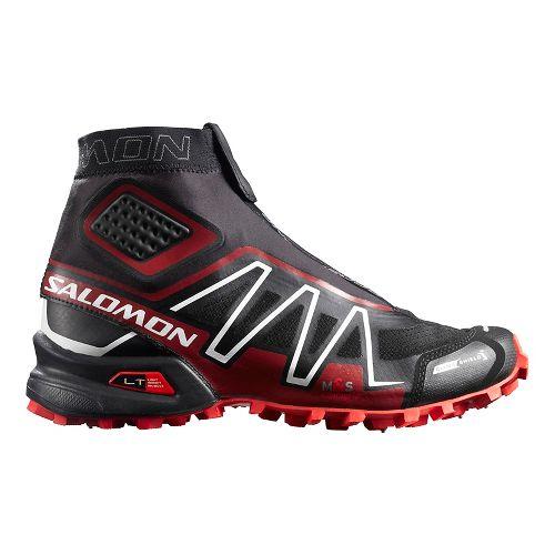 Unisex Salomon Snowcross CS Trail Running Shoe - Black/Red/White 10.5