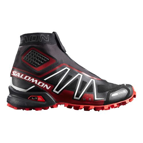 Unisex Salomon Snowcross CS Trail Running Shoe - Black/Red/White 13