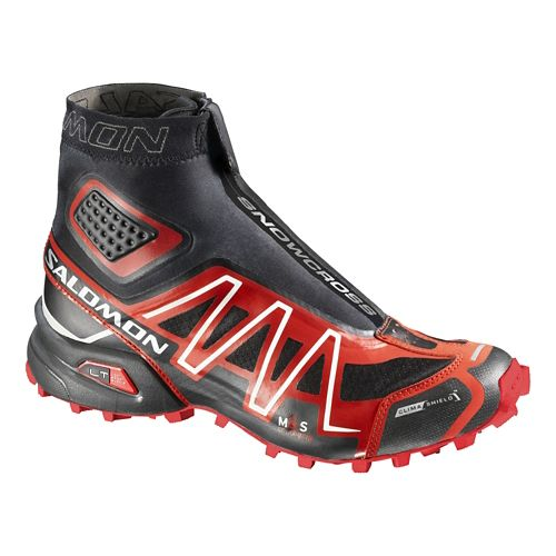 Unisex Salomon Snowcross CS Trail Running Shoe - Black/Red 6.5