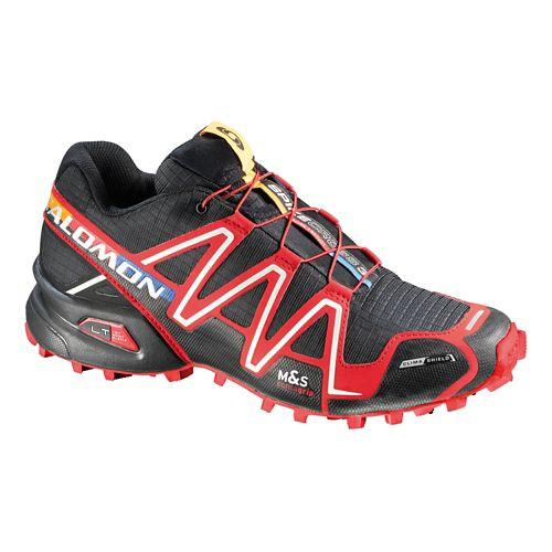 Unisex Salomon Spikecross 3 CS Trail Running Shoe - Black/Red 10.5