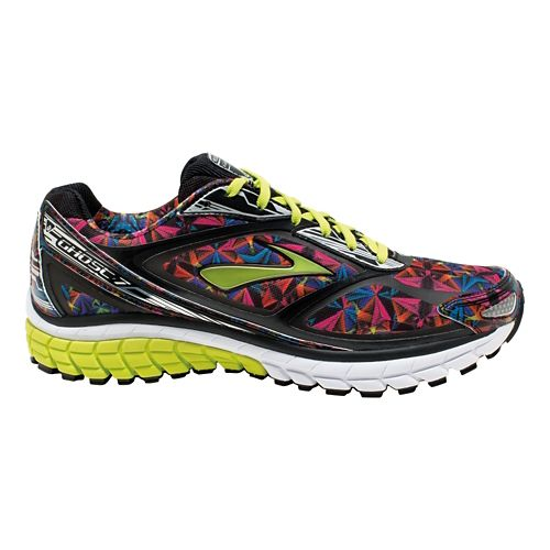 Mens Brooks Ghost 7 Kaleidoscope Running Shoe - Multicolor 10.5
