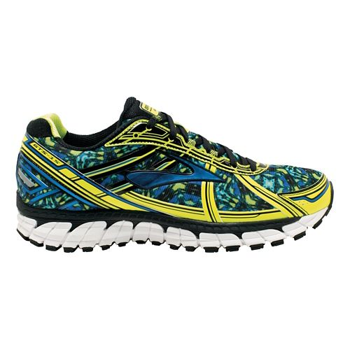 Mens Brooks Adrenaline GTS 15 Kaleidoscope Running Shoe - Blue/Multicolor 12.5