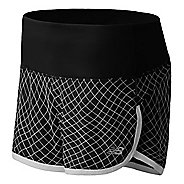 "Womens New Balance Impact 3"" Graphic Lined Shorts"