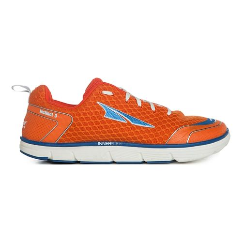Mens Altra Instinct 3.0 Running Shoe - Orange/Blue 7