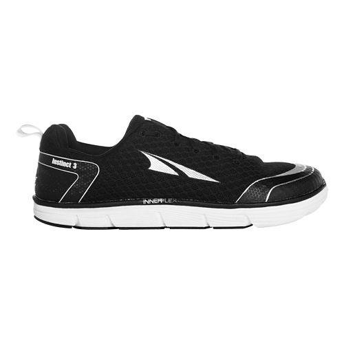 Mens Altra Instinct 3.0 Running Shoe - Black 11.5