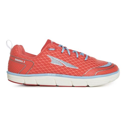 Womens Altra Intuition 3.0 Running Shoe - Coral/Blue 5.5