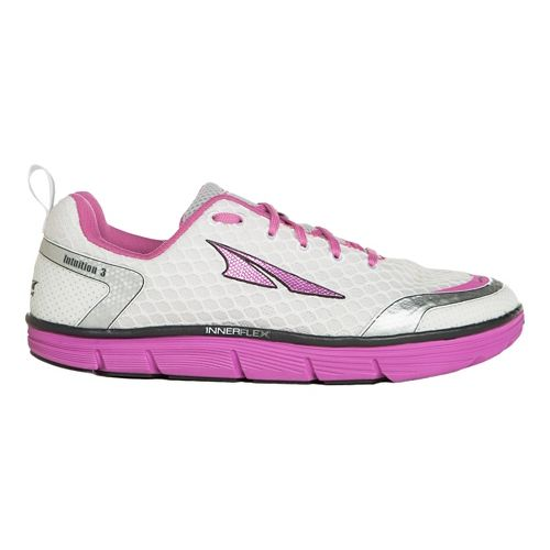 Womens Altra Intuition 3.0 Running Shoe - Silver/Pink 9