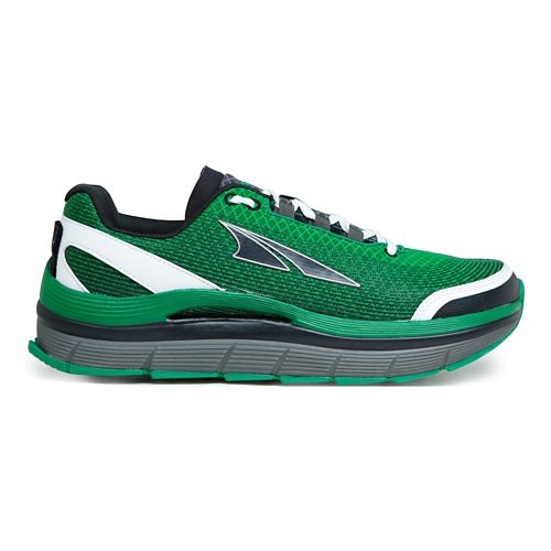 Mens Altra Olympus 1.5 Trail Running Shoe - Green/Grey 9.5