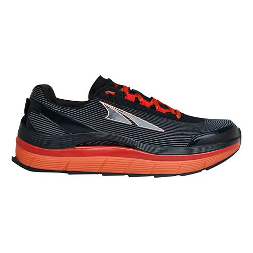 Mens Altra Olympus 1.5 Trail Running Shoe - Charcoal/Orange 10.5