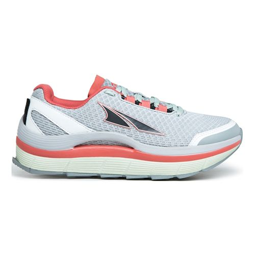 Womens Altra Olympus 1.5 Trail Running Shoe - Grey/Mint 7