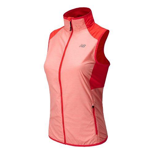 Womens New Balance Surface Running Vests - Fiji L