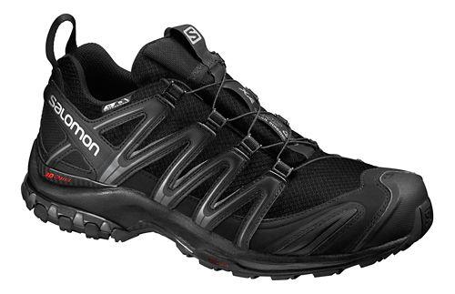 Mens Salomon XA Pro 3D CS WP Trail Running Shoe - Black 10