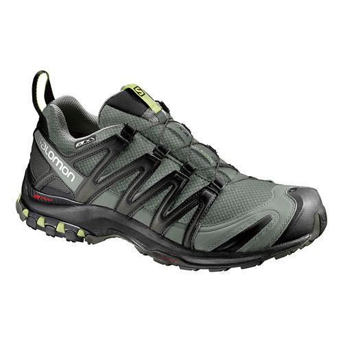Mens Salomon XA Pro 3D CS WP Trail Running Shoe - Grey/Black 7