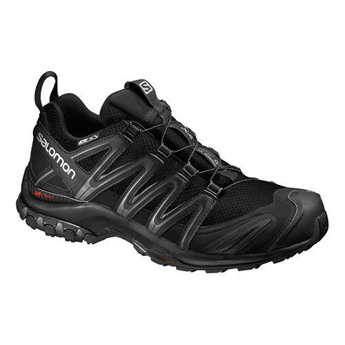 Mens Salomon XA Pro 3D CS WP Trail Running Shoe - Black/Grey 10.5