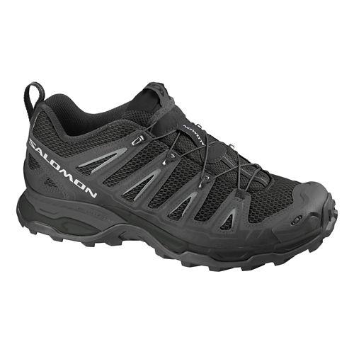 Mens Salomon X Ultra Hiking Shoe - Black/Grey 10.5