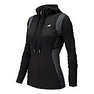 Womens New Balance Achieve Warm Up Hooded Jackets