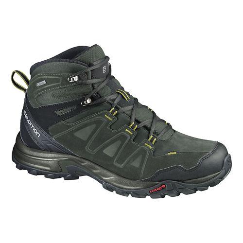 Mens Salomon Eskape Mid LTR GTX Hiking Shoe - Dark Titanium 7.5