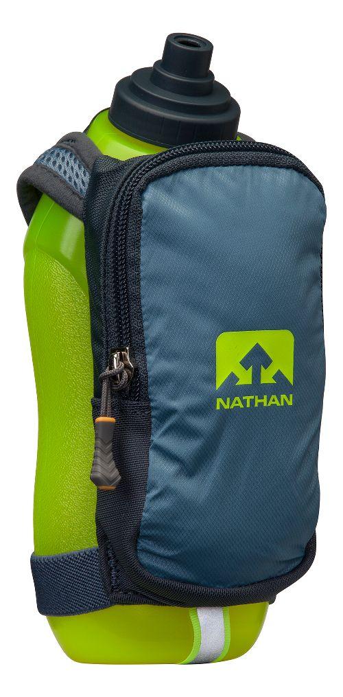 Nathan SpeedDraw Plus 18 ounce Hydration - Blue Stone