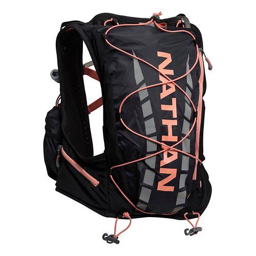 Womens Nathan VaporAiress 2L Vest Hydration - Black/Fusion Coral L/XL