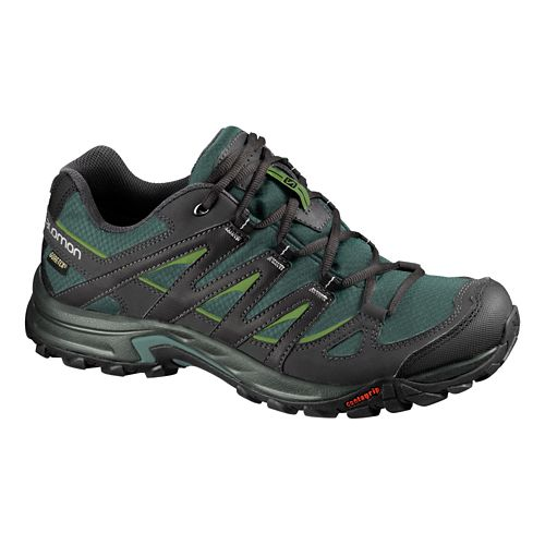 Mens Salomon Eskape GTX Hiking Shoe - Turf Green/Black 10.5