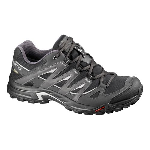 Mens Salomon Eskape GTX Hiking Shoe - Black/Grey 11.5