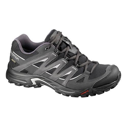 Mens Salomon Eskape GTX Hiking Shoe - Turf Green/Black 8.5