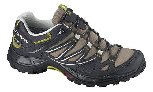 Womens Salomon Ellipse GTX Hiking Shoe - Thyme/Black 5.5