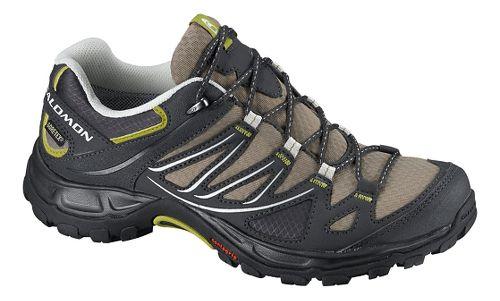 Womens Salomon Ellipse GTX Hiking Shoe - Thyme/Black 8