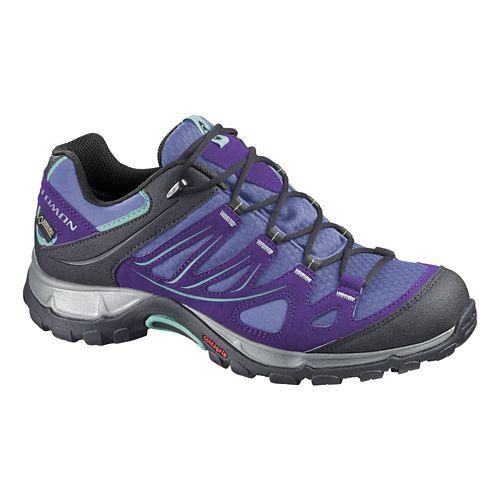 Womens Salomon Ellipse GTX Hiking Shoe - Petunia 6.5