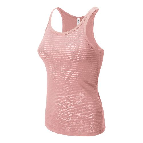 Womens New Balance Dasha Racerback Tank Technical Top - Luxe Pink M