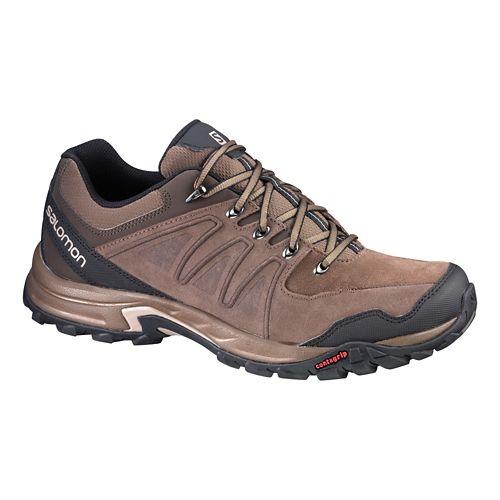 Mens Salomon Eskape LTR Hiking Shoe - Brown 10.5