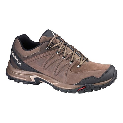 Mens Salomon Eskape LTR Hiking Shoe - Brown 11.5