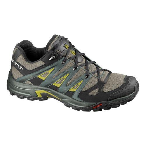 Mens Salomon Eskape Aero Hiking Shoe - Nile Green/Black 8