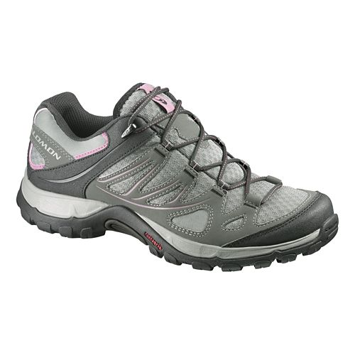 Womens Salomon Ellipse Aero Hiking Shoe - Verdigrey 9